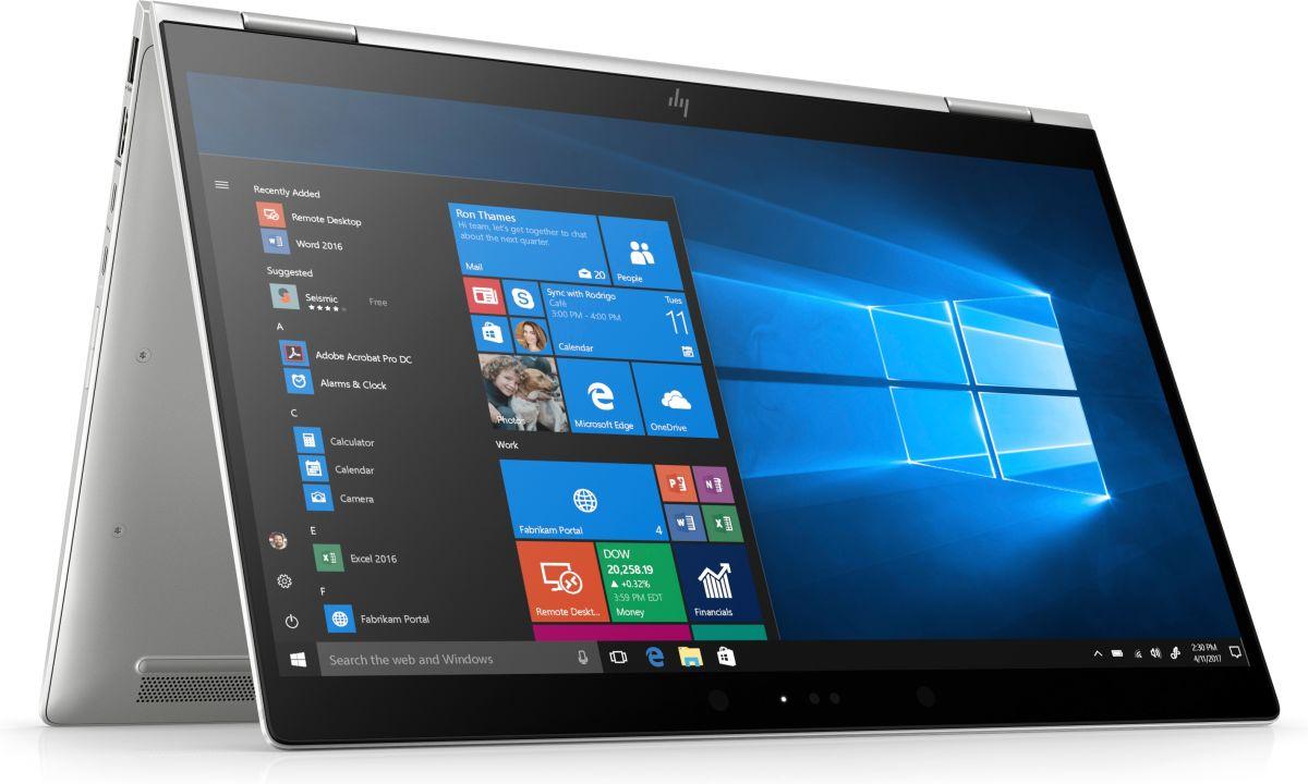 "Laptop HP EliteBook x360, 14"" Full HD Hybrid (2in1), i5 8250U (pana la 3.4 GHz), 16 GB RAM, 512 GB SSD, Windows 10 Pro [7]"