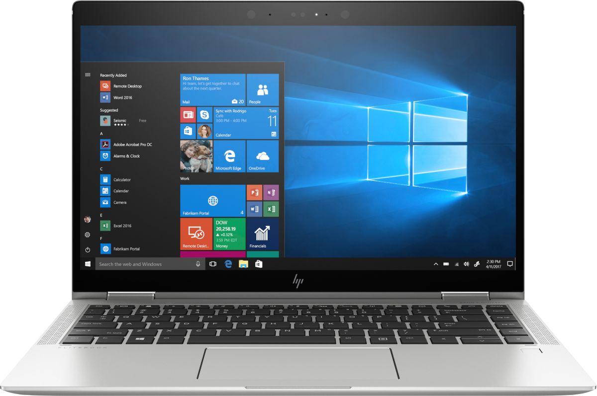 "Laptop HP EliteBook x360, 14"" Full HD Hybrid (2in1), i5 8250U (pana la 3.4 GHz), 16 GB RAM, 512 GB SSD, Windows 10 Pro [0]"