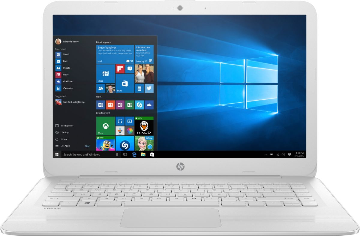 Hp Stream 14 Cb035nf 3rp27ea Laptop Specifications